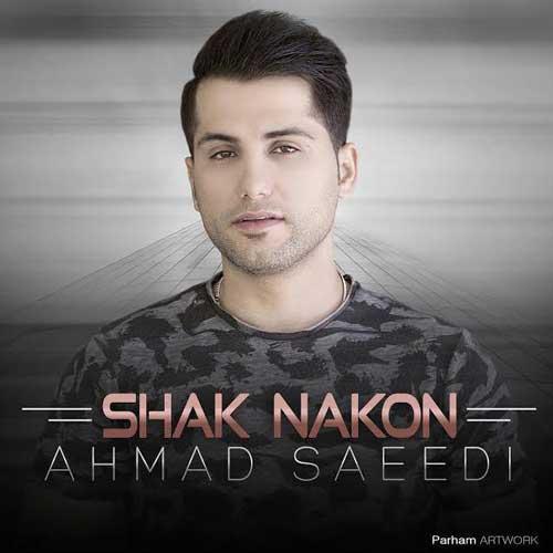دانلود  آهنگ  احمد سعیدی  شک نکن