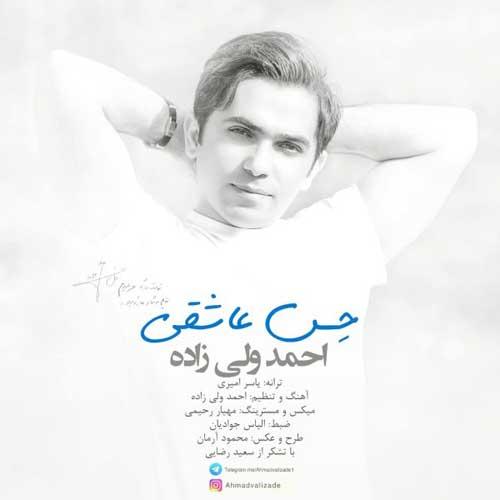 دانلود  آهنگ  احمد ولی زاده  حسه عاشقی