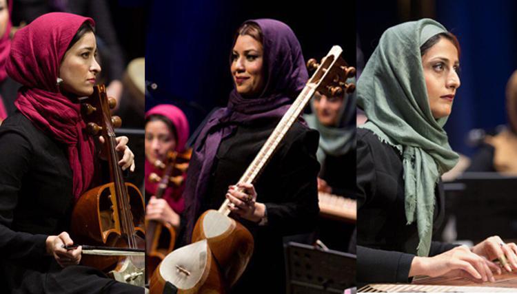 دانلود بانوان نوازنده ایرانى اجرای بانوان نوازنده ایرانى در اوکراین