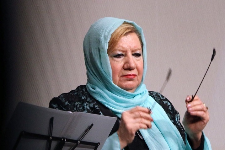 دانلود سوسن اصلانی گفتگو با سوسن اصلانی اولین زن رهبر ارکستر
