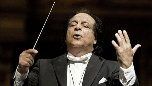 دانلود علی رهبری حضور علی رهبری در کنسرت ارکستر فیلهارمونیک اسلواکی