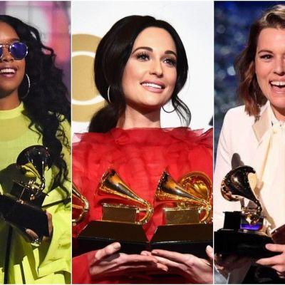 دانلود جوایز گرمی رکورد تاریخی زنان در جوایز گرمی ۲۰۱۹