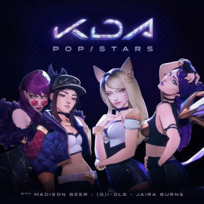 دانلود آهنگ K/DA POP/STARS feat Madison Beer and (G)I-DLE and Jaira Burns and League of Legends