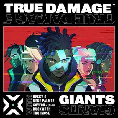 دانلود آهنگ True Damage GIANTS feat Becky G and Keke Palmer and SOYEON of (G)I-DLE and Duckwrth and Thutmose and League of Legends