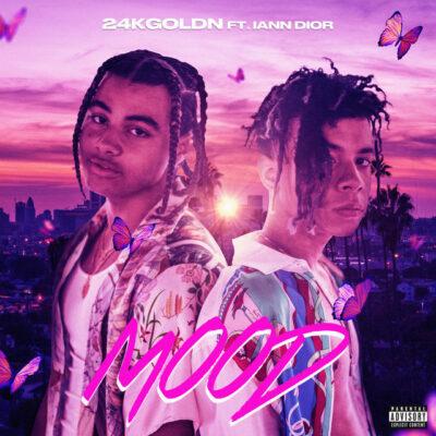 دانلود آهنگ 24kGoldn Mood (feat. Iann Dior)