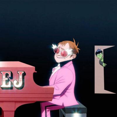 دانلود آهنگ Gorillaz The Pink Phantom ft. Elton John and 6LACK (Episode Seven)